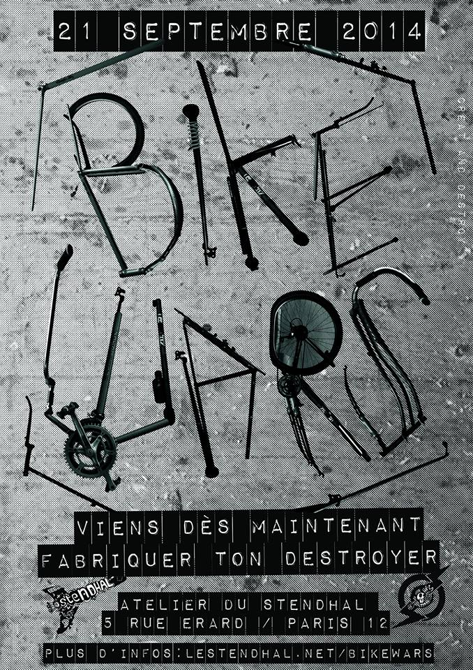 Bike War 2014 - ouverture de l'atelier