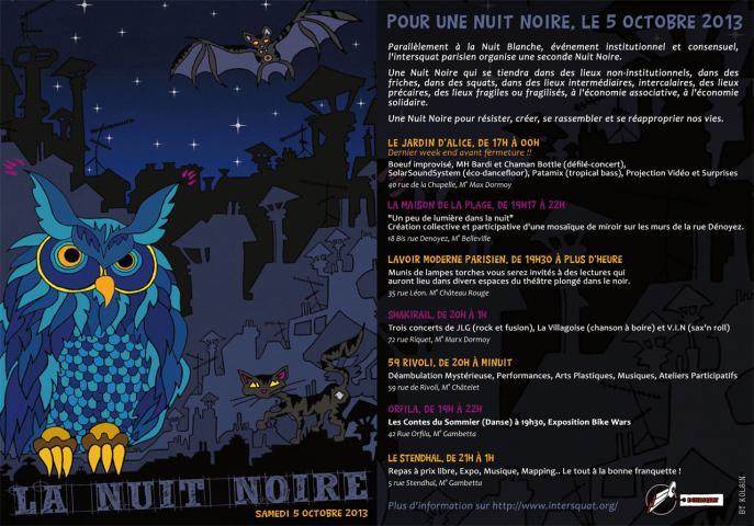 Nuit Noire 2013