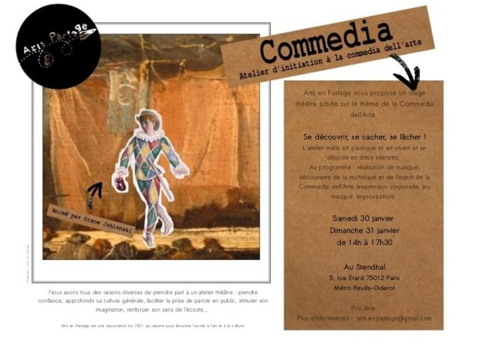 Commedia - Arts en Partage